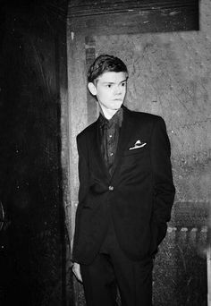 Thomas Brodie Sangster photo shoot