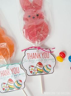 Peeps FREE Easter Printable by Love The Day
