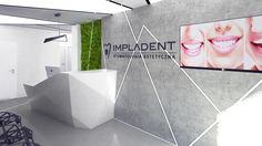 Poczekalnia nowoczesnego gabinetu stomatologicznego