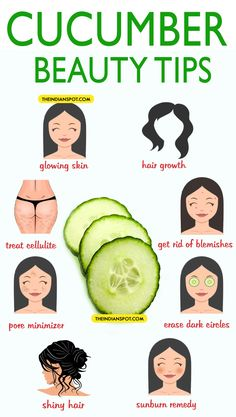 Now who would have thought cucumber was so useful?