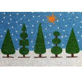 Tip! Select a winter-themed doormat to extend its use beyond the holidays.