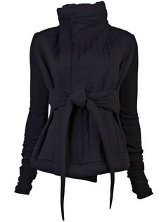 Rick Owens Lilies Tied quilted jacket, I want one