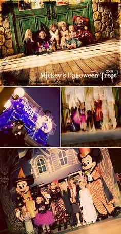 mickey's halloween treat collage 2009