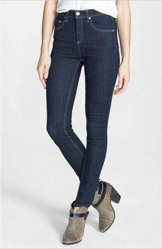ac8678170a31 NWT New Rag and Bone Heritage Skinny Dark Wash Jeans Size 24  fashion   clothing