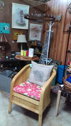 $95 Chair w.cushion @ Brass Bear 2652 Valleydale Rd. 35244 -- 205-566-0601 Open 10AM to 6PM Mon-Sat and Sunday 1-5pm