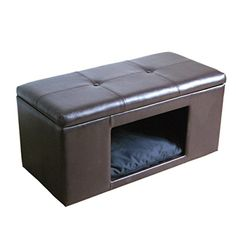 HomePop Comfy Hidden Pet Bed Ottoman Bench -- Awesome products selected by Anna Churchill