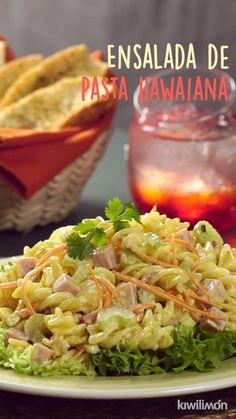 Pasta Recipes, Dinner Recipes, Cooking Recipes, Best Macaroni Salad, Healthy Snacks, Healthy Recipes, Deli Food, I Love Food, Mexican Food Recipes
