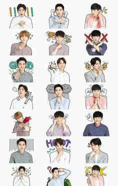 Image uploaded by Bli ^. Find images and videos about kpop, exo and chanyeol on We Heart It - the app to get lost in what you love. Bts And Exo, Exo Kai, Exo Chanyeol, Kyungsoo, Exo Stickers, Printable Stickers, Exo Fan Art, Exo Lockscreen, Avatar