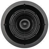 "SpeakerCraft - Profile AIM8 One 8"" In-Ceiling Speaker (Each) - Black"