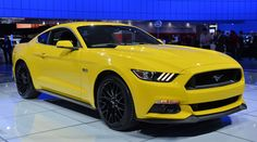 2015 Ford Mustang - Triple Yellow