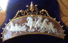 Stunning 19th Century Shell Cameo Tiara Circa 1870/80 AMAZING - wish I could…