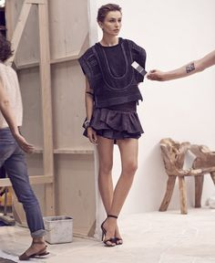 Isabel Marant - 2014 (model Andreea Diaconu)