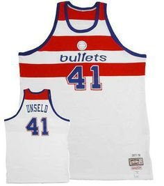 ee1bff00c ... closeout 1977 78 wes unseld washington bullets authentic mitchell and  ness throwback home jersey 399.00 41607