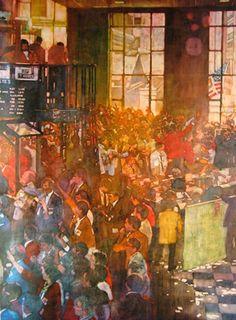 """Chicago Board of Trade"" - by Bernie Fuchs"