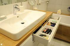 Funkcjonalne przechowywanie - zdjęcie od Dizajnia art - studio projektowe - Łazienka - Styl Minimalistyczny - Dizajnia art - studio projektowe