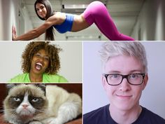 25 Internet Celebrities You Should Be Following Right Now