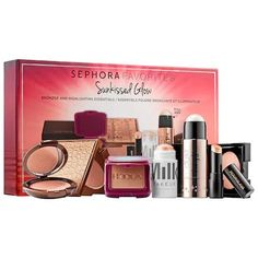 SEPHORA FAVORITES Sunkissed Glow: A multibranded kit with bronzer and highlighting essentials.