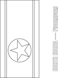 north korea flag coloring page sonlight core c window on the world