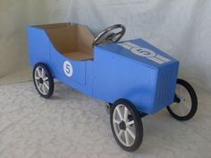 Childrens Ride On Toy Pedal Car Wooden DIY Kit $129