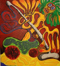 X/Maarit Korhonen, acrylic, oil pastel, canvas, 82cm x 73cm Dark Paintings, Original Paintings, Online Painting, Artwork Online, Dancer In The Dark, Autumn Painting, Original Art For Sale, Figurative Art, Art Oil