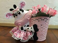Cow Craft, Background Powerpoint, Christmas Ornaments, Holiday Decor, Flowers, Crafts, Homemade Home Decor, Craft Ideas, Diy And Crafts