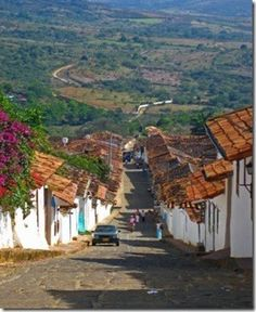 """supposedly the most beautiful """"pueblo"""" in Colombia. supposedly the most beautiful """"pueblo"""" in Colombia. Oh The Places You'll Go, Places To Travel, Places To Visit, Machu Picchu, Ecuador, Beautiful World, Beautiful Places, Colombia South America, Peru"""