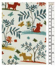 Plum Dog C, Tana Lawn Liberty Fabric