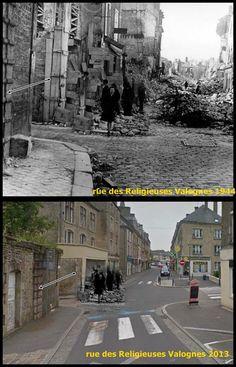 Valognes  24juin1944  Rue des Religieuses #NORMANDIA1944