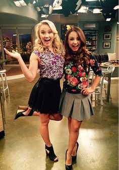 We love everything about @/aimeecarrero & @/emilyosment's outfits! #StyleSaturday #YoungandHungry (via @aimeecarrero)