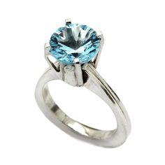 Women's Ring with big Gem Sterling Silver 925 925 Silver, Sterling Silver Rings, Plating, Buy And Sell, Engagement Rings, Gemstones, Big, Metal, Handmade