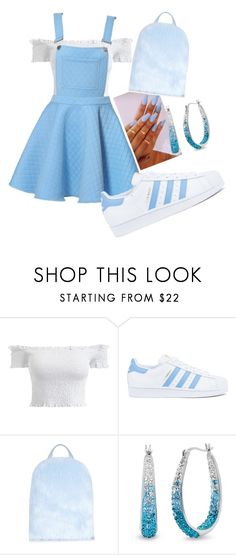 """""""Untitled #97"""" by itsayak on Polyvore featuring adidas and Amanda Rose Collection"""