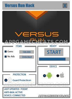 Versus Run Cheats, Tips, & Hack for Gems & No Ads Unlock  #Arcade #Puzzle #VersusRun http://appgamecheats.com/versus-run-cheats-tips-hack/
