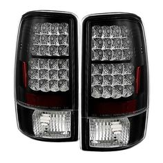 HS Power Chrome Altezza Tail Lights Lamps 2000-2006 Chevy Suburban Tahoe//GMC Yukon Denali