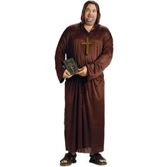 Drunk Monk Adult Costume Plus