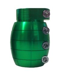 Team Dogz Standard Green Grenade Pro Scooter Clamp