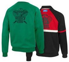 Adidas - Star Wars Tennis  - Yoda vs. Vader reversible jacket for Jedi's vs. Siths.  Sweet!