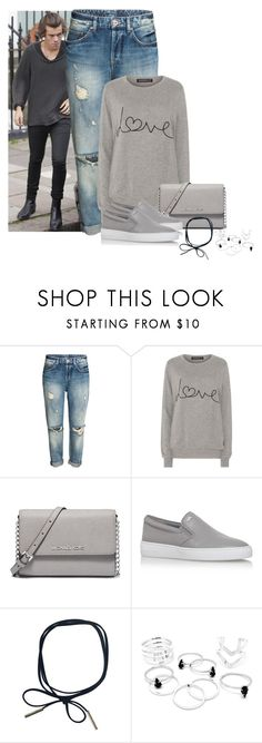"""Untitled #451"" by alexa-sz ❤ liked on Polyvore featuring Sugarhill Boutique and MICHAEL Michael Kors"
