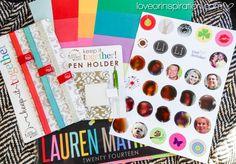 Erin Condren Life Planners 2014  |  See original post @ loveorinspiration.com