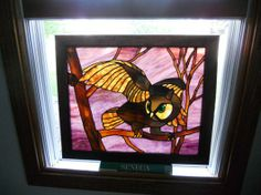 Stained Glass Owl - by Lindassilverado