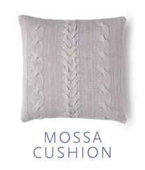 Mossa Cushion Cover in MillaMia Merino Wool #knitting #pattern #pillow