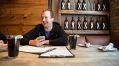 Kik CEO Ted Livingston (Michelle Gibson For Forbes)