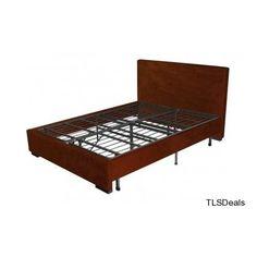 Full Size Platform Foundation Metal Bed Frame Storage Sleeping Portable Base Apt