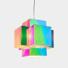 "Prism Light | MoMAstore.org, white sulphate board, specialist lamination film, 10.25""sq, $75"