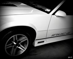 Chevrolet Camaro IROC-Z by tjaden76, via Flickr