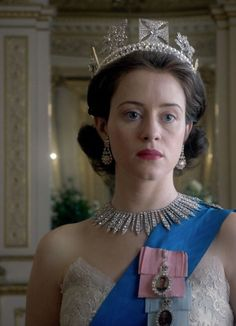 Michele Clapton premieres her royal costumes for Netflix series The Crown.