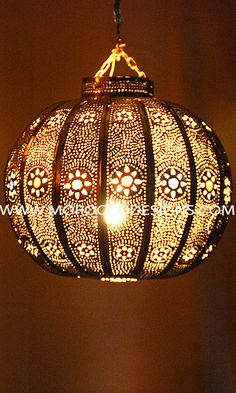 moroccan light fixture