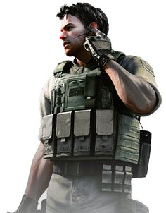 Chris Redfield (BSAA) - Resident Evil HD Render by YukiZM
