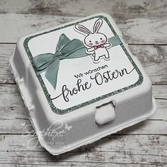 """Blog Hop """"Stempelnd durchs Jahr"""" 03/2017 Easter Projects, Craft Projects, Easter Treats, Stamping Up, Spring Crafts, Craft Fairs, Stampin Up Cards, Happy Easter, Card Making"""