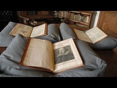 Rare copy of Shakespeare's first folio discovered - YouTube