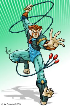 Most boys wanted to be Lion O or Panthro but the nerd in me always liked the scientist that could kick a$$  *lol*